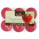 Kyiv Candle Factory Strawberry Candle 6pcs
