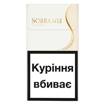 Сигареты Sobranie White Super Slims
