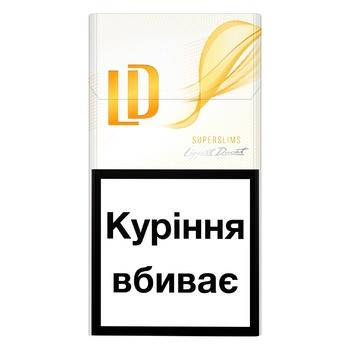 Сигареты LD Super Slims Amber - купить, цены на СитиМаркет - фото 1