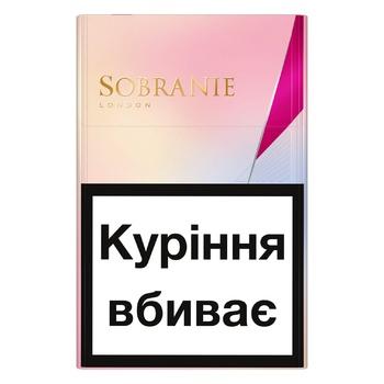 Сигареты Sobranie KS Super Slim Golds - купить, цены на ЕКО Маркет - фото 1
