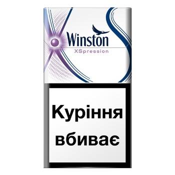 Сигареты Winston Xspression Purple Super Slims
