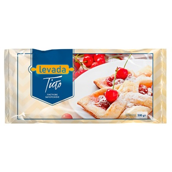 Тесто слоеное Левада 500г