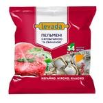 Пельмені Левада з яловичиною та свининою 400г