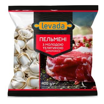 Пельмені Левада з молодою телятиною 400г - купити, ціни на Ашан - фото 1