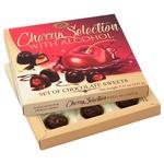 Цукерки Бісквіт-Шоколад Вишня заспиртована в шоколаді 145г