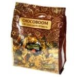 Конфеты Chocoboom Золотые каштаны шоколадные с кунжутом 180г