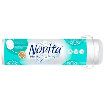 Novita Delicate cotton cosmetic disks 100pcs
