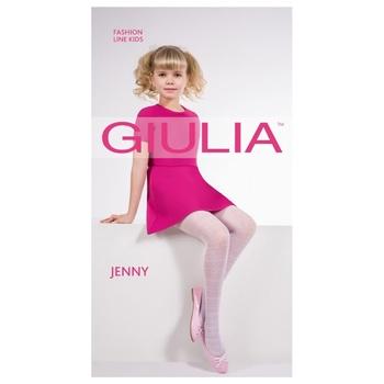Колготы Giulia Jenny 20Den детские р.116-122 белые