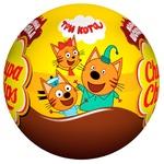 Chupa Chups with toy chocolate ball 20g