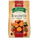 Maretti with tomato-olive-oregano bruschette chips 70g