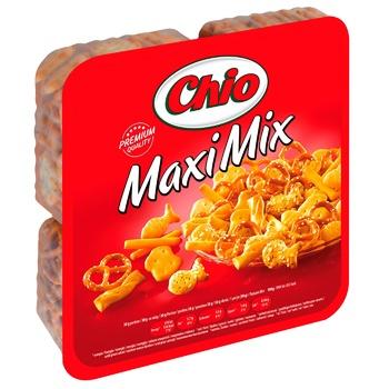 Набор соленого печенья Chio Maxi Mix 250г