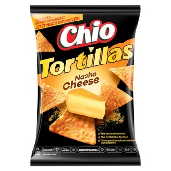Чипсы Chio Tortillas со вкусом сыра 125г - купить, цены на Таврия В - фото 1