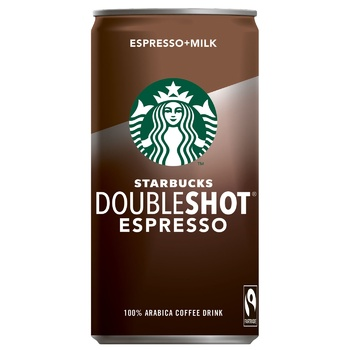 Starbucks Doubleshot Espresso Coffee Drink 200ml - buy, prices for CityMarket - photo 1