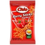 Чипсы Chio Party Sticks картофельные со вкусом паприки соломкой 70г