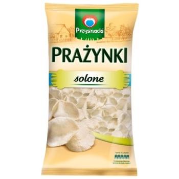 Снеки Przysnacki картофельные соленые 120г - купить, цены на Метро - фото 1