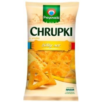Снеки Przysnacki кукурузные со вкусом сыра 150г