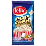 Попкорн Felix соленый 90г