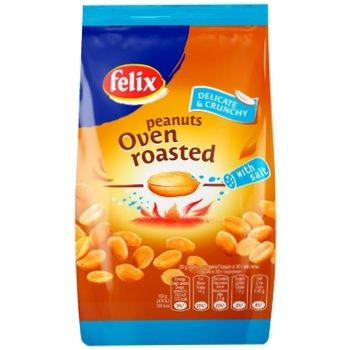 Felix roasted in oven salt peanuts 180g