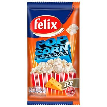 Попкорн Felix со вкусом сыра 90г