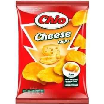 Чіпси Чіо Чіпс картопляні зі смаком сиру 150г Угорщина