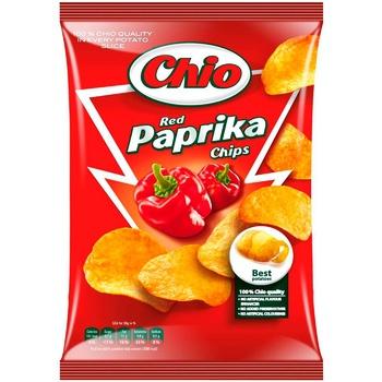 Чіпси Чіо Чіпс картопляні зі смаком паприки 150г Угорщина