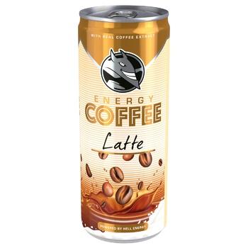 Кофе холодный HELL Energy Coffee Latte 250мл