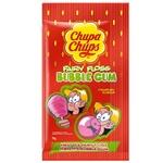 Жевательная резинка Chupa Chups Bubbly со вкусом клубники 11г