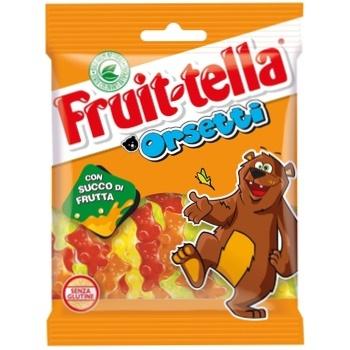 Мармелад жевательный Fruit-tella Orsetti 90г