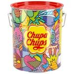 Карамель Chupa Chups зі смаком полуниці, коли, полуниці з вершками,какао та ванілі 1,8кг