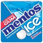 Mentos Ice Mint Chewing Gum 12.9g