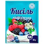 Кисель Ласочка вкус лесные ягоды 90г