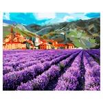 Ideyka KNO2216 Mountain Lavender Creative Set 40x50cm