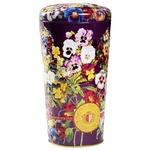 Chelton Vase of Pansies Black Leaf Tea 100g
