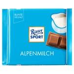 Шоколад молочный Ritter Sport Альпийское молоко 100г