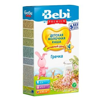 Bebi Premium milk buckwheat porridge 200g - buy, prices for CityMarket - photo 1