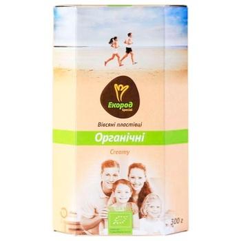 Хлопья Екород Creamy овсяные органические 300г