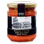 Bella Italia Sauce with Olives 180g
