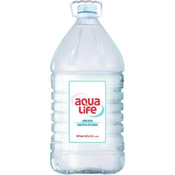 Вода Aqua Life негазированная 5л