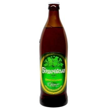 Berdychivske original light beer 4.8% 0,5l