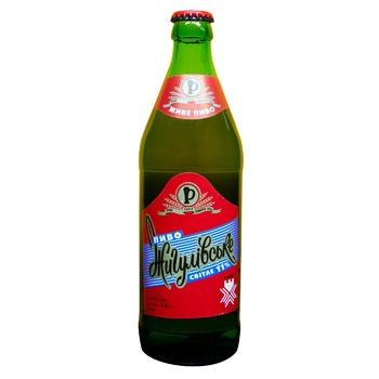 Пиво Ривень Жигулевское светлое 4% 0,5л