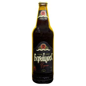 Пиво Рівень Бергшлосс Чорний темне 4,5% 0,5л