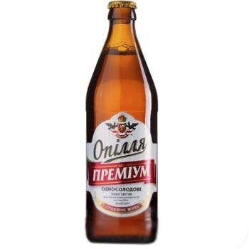 Пиво светлое Ополье Премиум 0.5л - купить, цены на СитиМаркет - фото 1