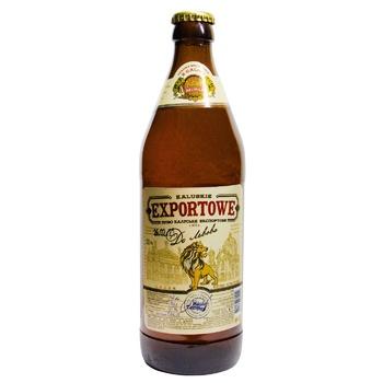 Пиво Kalush Browar Exportowe до Львова 3,8% 0,5л - купить, цены на Фуршет - фото 2