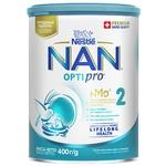 Смесь детская молочная сухая Nestle Nan 2 Optirpo с олигосахаридом 2'FL от 6 месяцев 400г