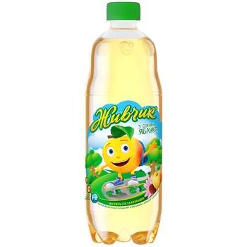 Напій газований Живчик Яблуко сокомісткий 0,5л - купити, ціни на ЕКО Маркет - фото 1