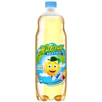Напиток негазированный Живчик Яблоко сокосодержащий 1л