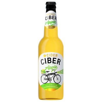Ciber semi-sweet apple cider 5-6% 0,5l - buy, prices for EKO Market - photo 1