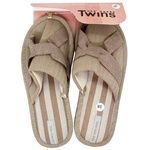 Twins Elegant Beige Women's House Slippers 36-37s