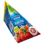 Паста томатная Чумак 25% 70г - купить, цены на Ашан - фото 1