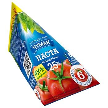 Chumak Tomato Paste 25% 70g - buy, prices for Auchan - photo 1